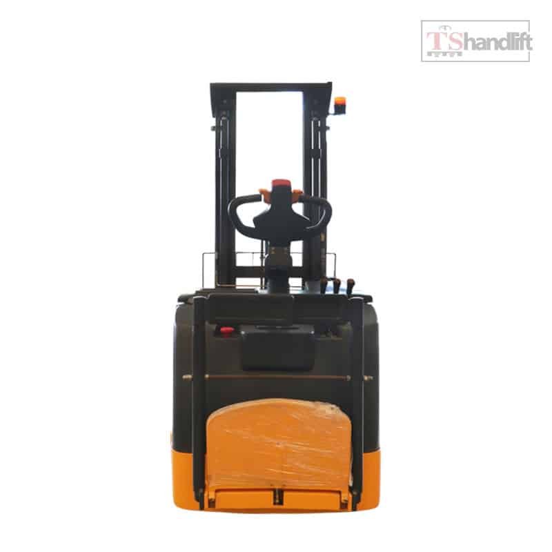 Electric Reach Stacker Back Side