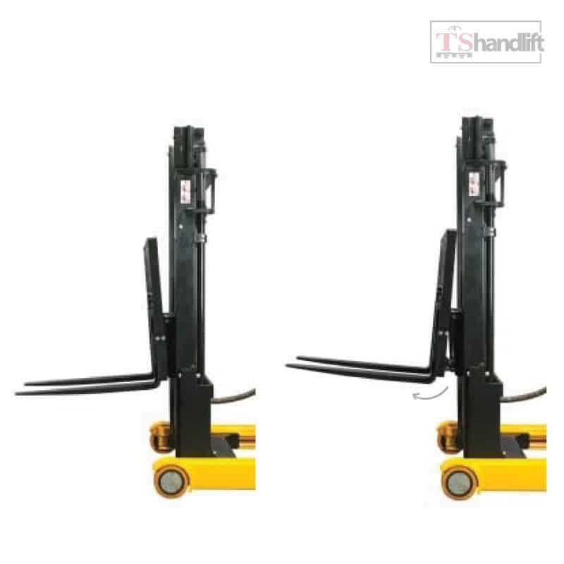 Electric Reach Stacker Fork Tilt Forward Backward