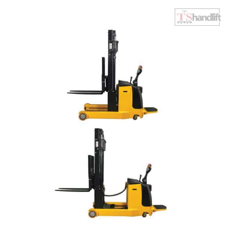 Electric Reach Stacker Side