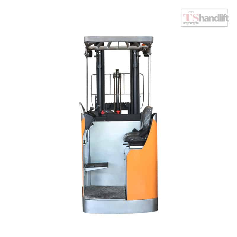 Electric Stand Up Reach Truck Side