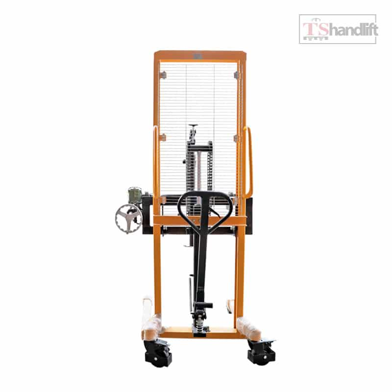 Hydraulic Drum Stacker With Engle Grip