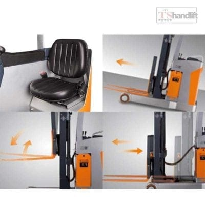 Electric Stand Up Reach Truck Testing